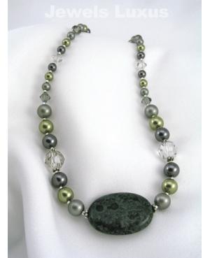 Green Swarovski Necklace