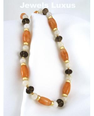 Red Jadeite Necklace