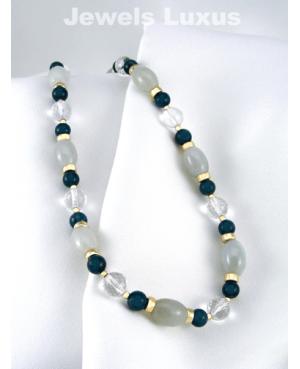 Apatite Jadeite Necklace