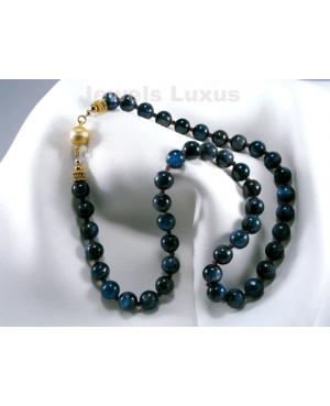 Kyanite Garnet Necklace