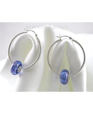 Murano Silver Earrings