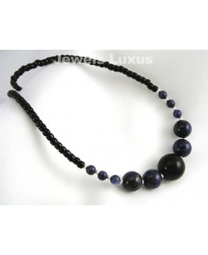 Lapis + Silver Necklace